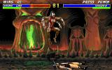 Mortal Kombat 3 DOS Sheeva, the female counterpart of Goro