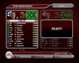 UEFA Euro 2008 Windows Team management screen