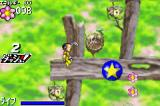 Pinobee: Wings of Adventure Game Boy Advance These star bubbles bounce you around.