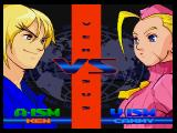 Street Fighter Alpha 3 PlayStation Setting up the battle...