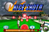 JGTO Kounin Golf Master: Japan Golf Tour Game Game Boy Advance Time perfectly for a much more powerful shot.
