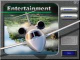 Microsoft Flight Simulator for Windows 95 Windows Entertainment screen - a set of challenging flight situations.