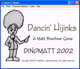 Dancin' Hijinks Windows Title screen
