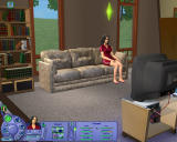 The Sims: Life Stories Windows Watching television