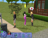 The Sims: Life Stories Windows Talking to neighbours