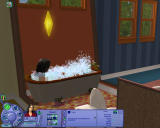 The Sims: Life Stories Windows Taking a bubble bath
