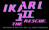 Ikari III: The Rescue DOS Title screen (CGA)