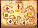 Harry Potter and the Chamber of Secrets Windows Map screen