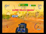 Excite Truck Wii Four star SUPER TRUCK SMASH!