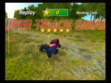 Excite Truck Wii Replay: nice smash