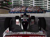 Monaco Grand Prix Racing Simulation 2 Windows Formula car from front view