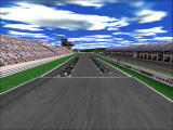 Monaco Grand Prix Racing Simulation 2 Windows Cars are ready to start the race