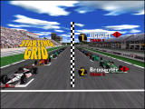 Monaco Grand Prix Racing Simulation 2 Windows Game shows starting grid positions before race starts