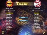 NBA Live 95 DOS Trade menu