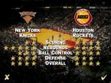NBA Live 95 DOS Two teams ratings with stars