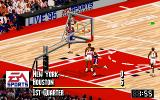 NBA Live 95 DOS Houston just got a basket
