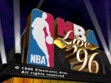 NBA Live 96 DOS Title screen