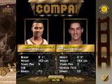NBA Live 96 DOS Comapring two players