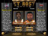 NBA Live 96 DOS Setting up rosters