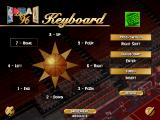NBA Live 96 DOS Setting up keyboard