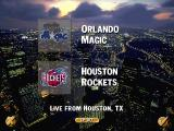 NBA Live 96 DOS Orlando Magic vs. Houston Rockets