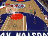 NBA Live 96 DOS Player has the ball