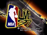 NBA Live 97 DOS Title screen