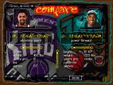 NBA Live 97 DOS Comparing two players