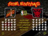NBA Live 97 DOS Team matchups
