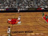 NBA Live 97 DOS Wide attack with three players