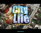 City Life Edition 2008 Windows Title screen