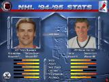 NHL 96 DOS Comparing players