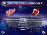 NHL 96 DOS Scouting report