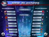 NHL 96 DOS Playoffs start menu