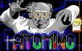 Atomino DOS Title screen (EGA)
