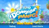 Downstream Panic! PSP Title screen