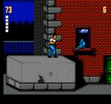 The Ultimate Stuntman NES Stage 1-2 is a sidescroller
