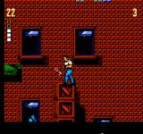 The Ultimate Stuntman NES You need to collect keys to beat the level