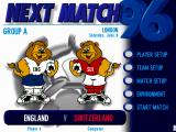 UEFA Euro 96 England DOS Next Match in European Championships