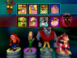 Crash Bash PlayStation Character selection