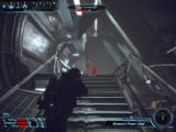 Mass Effect Windows As you are aiming at the asari commando, she uses a biotic power on you, distorting your vision.