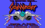 SideWinder PC Booter title screen