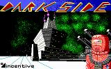 Dark Side DOS Title screen (EGA)