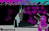 Dark Side DOS Title screen (CGA)