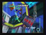 Sonic Riders PlayStation 2 In Game 2 - Stage 1: A speed boost and a ring.