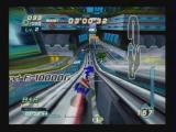 Sonic Riders PlayStation 2 In Game 5 - Stage 1: Closing in on a computer opponenet.