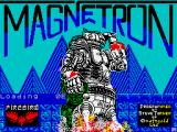 Magnetron  ZX Spectrum The loading screen has hex appeal