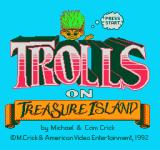 Trolls on Treasure Island NES Title screen