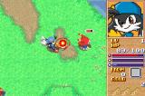 Klonoa Heroes: Densetsu no Star Medal Game Boy Advance Shooting a monster