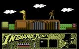 Indiana Jones and the Last Crusade: The Action Game Commodore 64 Jump over dangerous wild animals